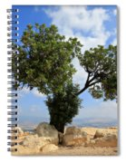 Peace Tree Spiral Notebook