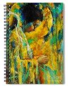 Peaceful Angel Spiral Notebook
