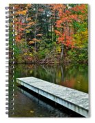 Peaceful Autumn Day Spiral Notebook
