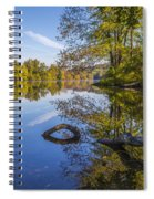 Peaceful Autumn Spiral Notebook
