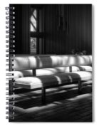 Peaceful Benches Spiral Notebook