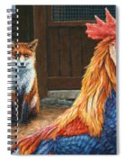 Peaceful Coexistence Spiral Notebook