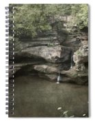 Peaceful Contemplation Spiral Notebook