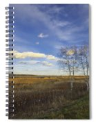 Peaceful Countryside Spiral Notebook