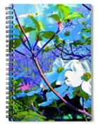 Peaceful Dogwood Spring Spiral Notebook