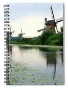 Peaceful Dutch Canal Spiral Notebook