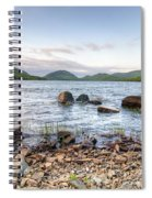 Peaceful Early Morning At Eagle Lake Spiral Notebook