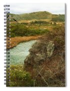 Peaceful Estuary In Carmel Spiral Notebook