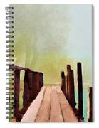 Peaceful Foggy Day Spiral Notebook