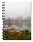Peaceful Foggy Morning Marr Park Spiral Notebook