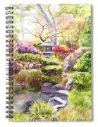 Peaceful Garden Spiral Notebook