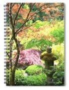 Peaceful Japanese Garden Spiral Notebook