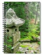 Peaceful Japanese Garden On Mount Desert Island Spiral Notebook