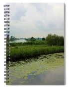 Peaceful Kinderdijk Spiral Notebook