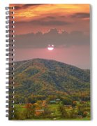 Peaceful Mountain Community Spiral Notebook
