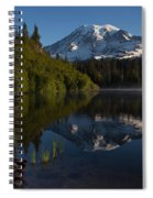 Peaceful Mountain Serenity Spiral Notebook