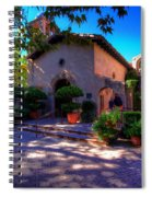 Peaceful Plaza Spiral Notebook