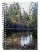 Peaceful Pond Spiral Notebook