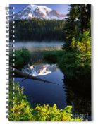 Peaceful Reflection Spiral Notebook