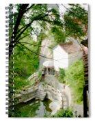 Peaceful Spot In China Spiral Notebook