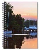 Peaceful Sunset Spiral Notebook
