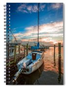 Peaceful Sunset Spiral Notebook