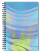 Peaceful Waves Spiral Notebook