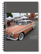 Peach Classic Spiral Notebook