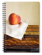 Peach Still Life Spiral Notebook