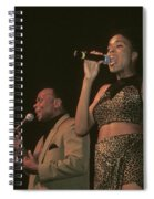 Peaches And Herb Spiral Notebook
