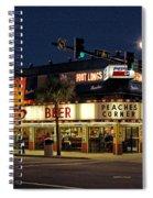 Peaches Corner Spiral Notebook