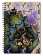 Peacock Dream 4 Spiral Notebook
