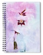 Peacock Orchids Spiral Notebook