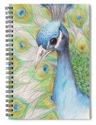 Peacock Portrait Spiral Notebook