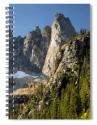 Peaks And Trees Spiral Notebook