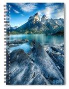 Peaks In Patagonia Spiral Notebook