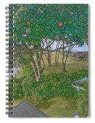 Dawn At Peaks Island Bay Spiral Notebook