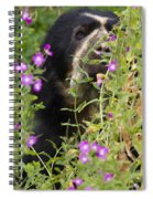 Peaky Boo Spiral Notebook