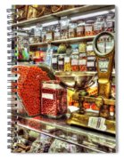 Peanut Counter Spiral Notebook