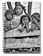 Peanut Gallery Monochrome Spiral Notebook