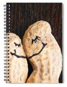 Peanuts In Love Spiral Notebook