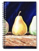 Pear Pear And A Pear Spiral Notebook