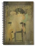 Pear Soap Girl Spiral Notebook