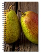 Pear Still Life Spiral Notebook