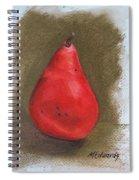 Pear Study 2 Spiral Notebook