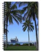 Pearl Harbor Hawaii Spiral Notebook