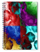 Pearlescent Posies Spiral Notebook