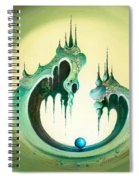 Pearl's Castle Spiral Notebook