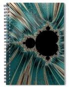Pearly Mandelbrot Spiral Notebook