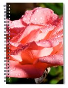 Pearly Petals Spiral Notebook